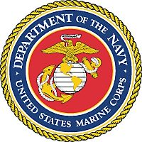 United States Marine Cast Bronze Seal