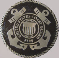 18 inch Diameter Cast Bronze Coast Guard Seal