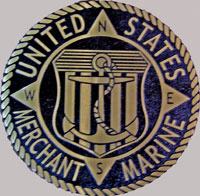 18 inch Diameter Cast Bronze Merchant Marine Seal