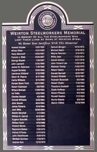 30 inch x 48 inch Cast Bronze, Individual Cast Name Plates Attached, Flat Relief Border, Flat Relief