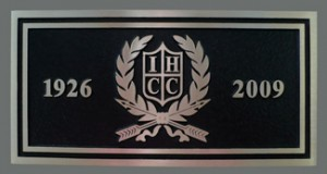 9 inch x 4.5 inch Cast Bronze Plaque, Flat Relief Graphics, Double Line Border