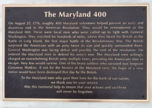The Maryland 400 Completed Project