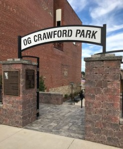 O.G. CRAWFORD PARK ENTRANCE FEATURING 24