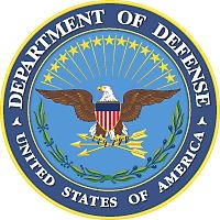 United States Department of Defense Cast Bronze Seal